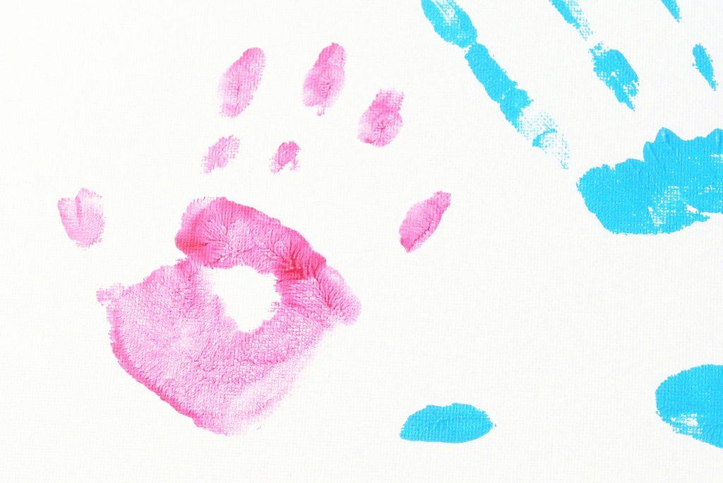 Pamiątka rodzinna - odciski dłoni