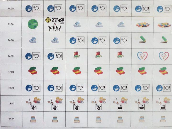 Wakacyjne plany według przedszkolaka